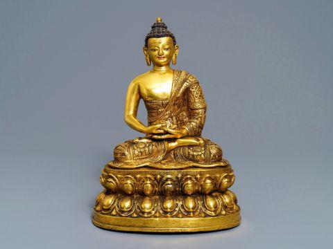 boeddha antiek picart