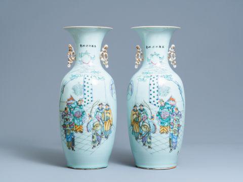 antiek picart chinese vazen