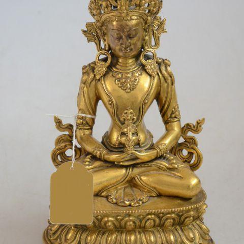waarde antiek boeddhabeeld