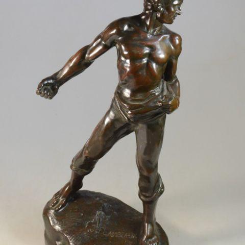 waarde antiek bronzen beeld