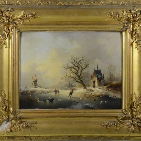 schatting antiek schilderij