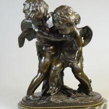 bronzen beelden Moreau