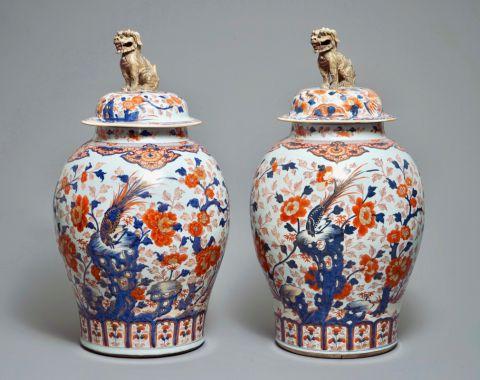 antiek picart De verloren schoonheid van Japans Imari-porselein Imari vasen